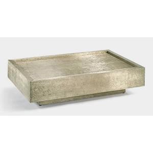 Lambert Couchtisch Tresor - Silber