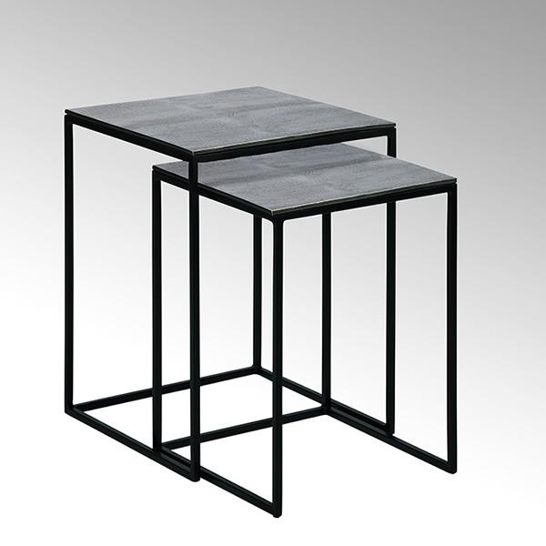 lambert beistelltisch dagny vernickelt. Black Bedroom Furniture Sets. Home Design Ideas