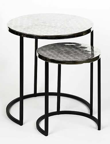 lambert beistelltisch set duetto. Black Bedroom Furniture Sets. Home Design Ideas