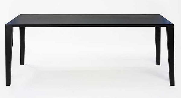 lambert tisch aracol eiche schwarz. Black Bedroom Furniture Sets. Home Design Ideas