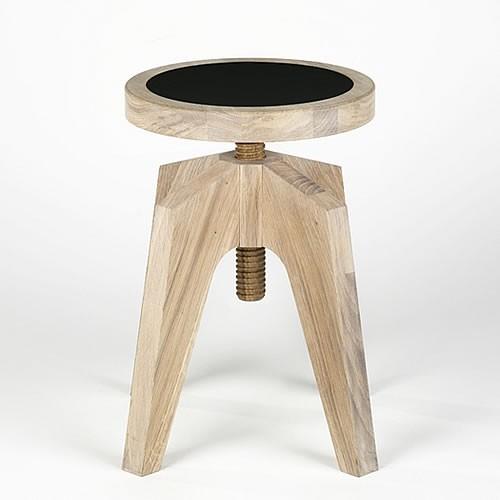 lambert hocker sergio eiche gek lkt. Black Bedroom Furniture Sets. Home Design Ideas
