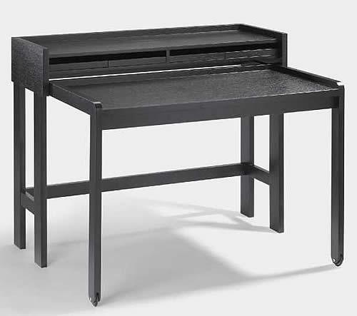 lambert sekret r modesto eiche schwarz. Black Bedroom Furniture Sets. Home Design Ideas
