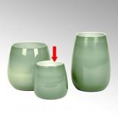 Lambert Vase / Glasvase Pisano - Jade