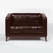 Lambert Sofa Stanhope, schokoladen-braun