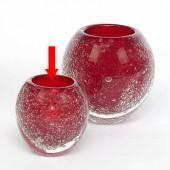Lambert kleines Windlicht / Vase Salviato - Rot