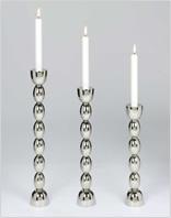 Lambert Kerzenhalter - Silber / Metall