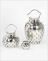 Lambert Windlichter - Silber / Metall